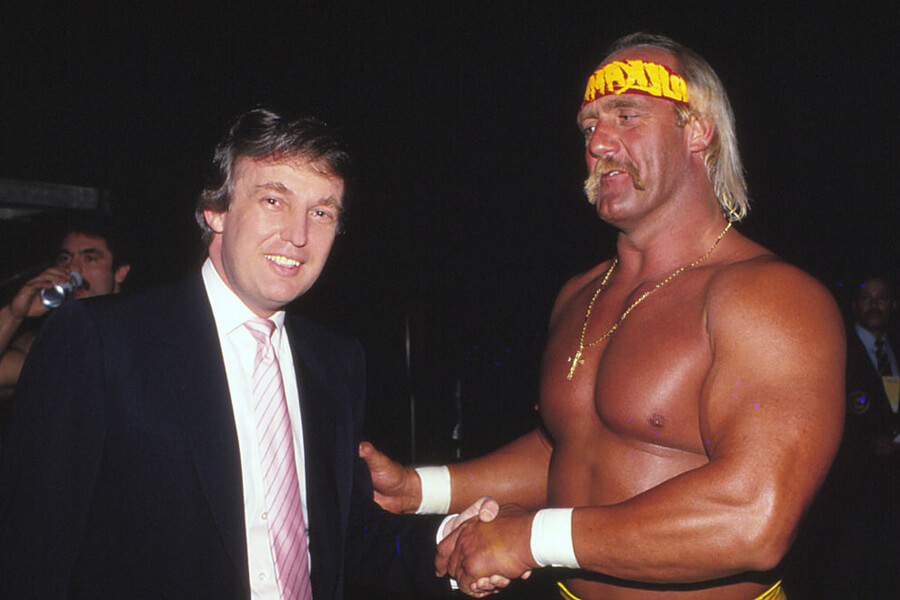 hulk hogan supported donald trump