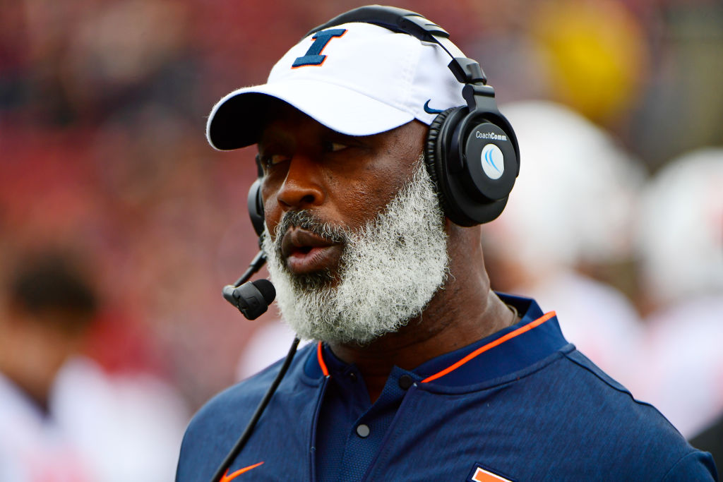 lovie smith illinois head coach salary