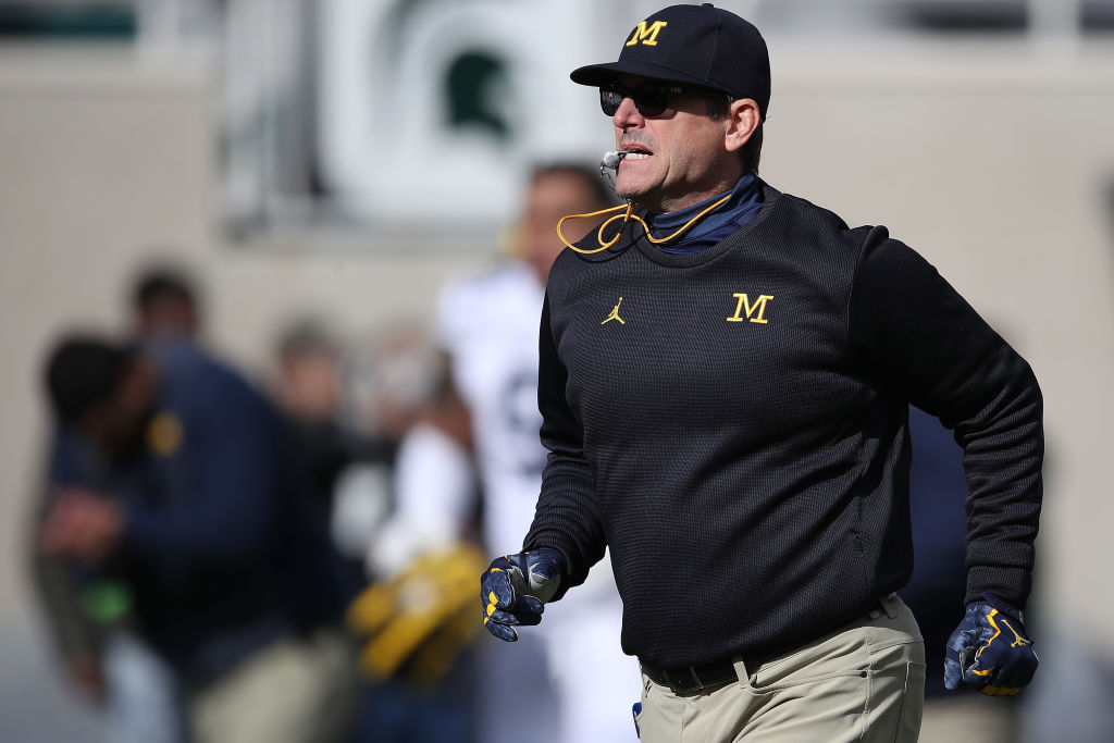 jim harbaugh michigan coaching salary