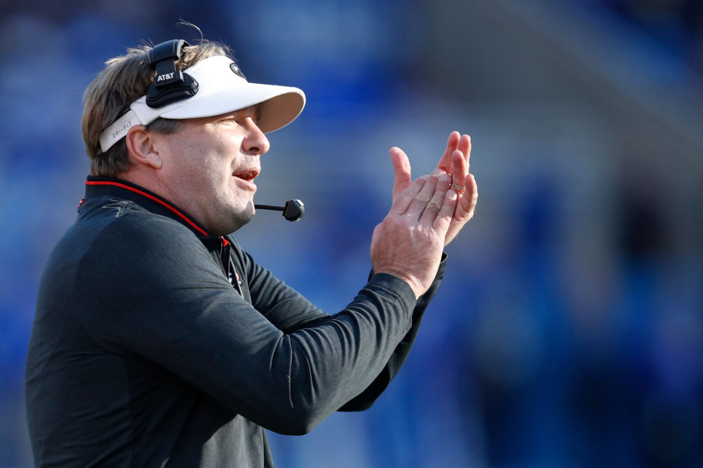 kirby smart georgia coach salary