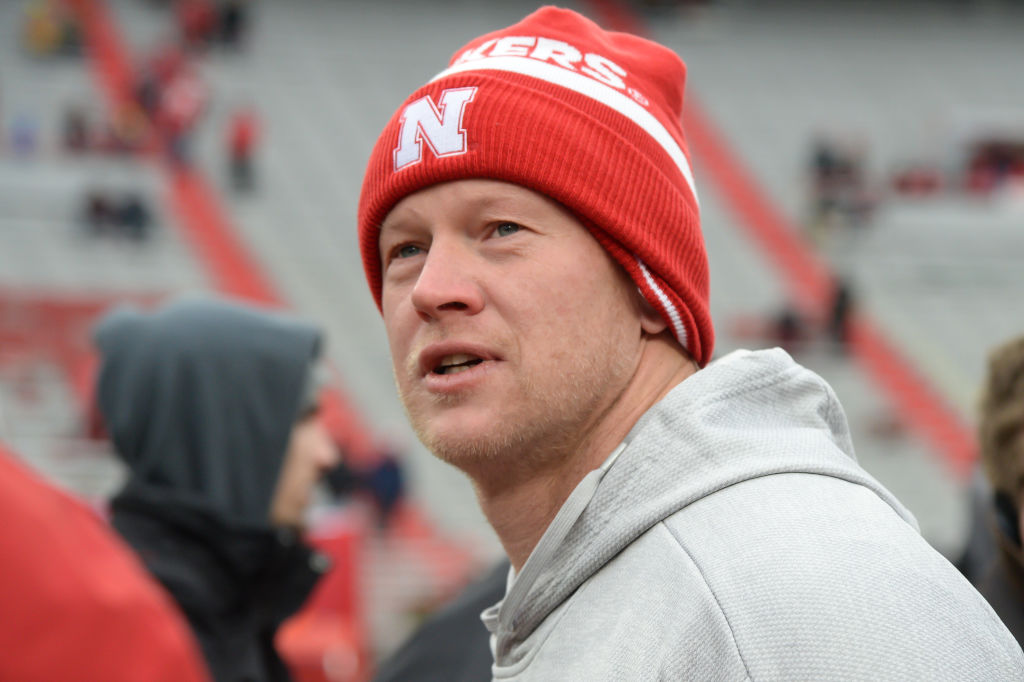 scott frost nebraska head coach salary