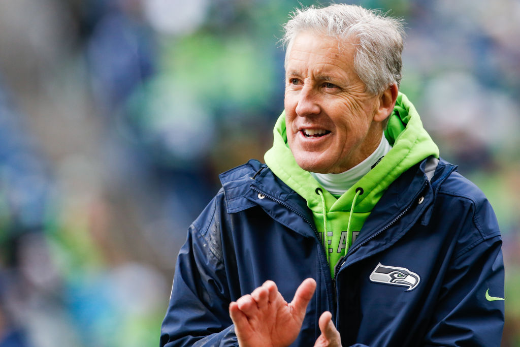 pete carroll super bowl head coach Seattle seahawks