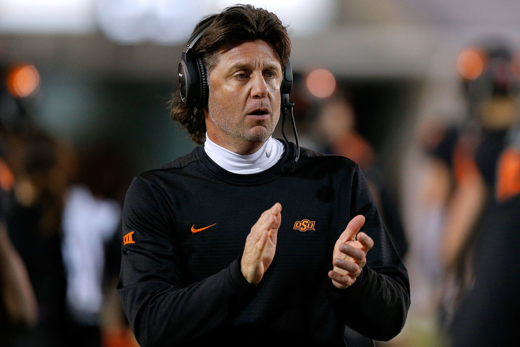 mike gundy oklahoma head coach salary