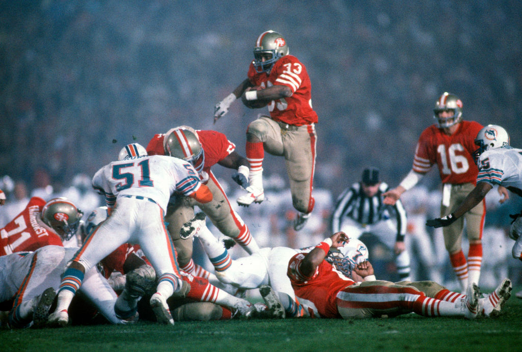 super bowl xix stanford stadium 49ers dolphins