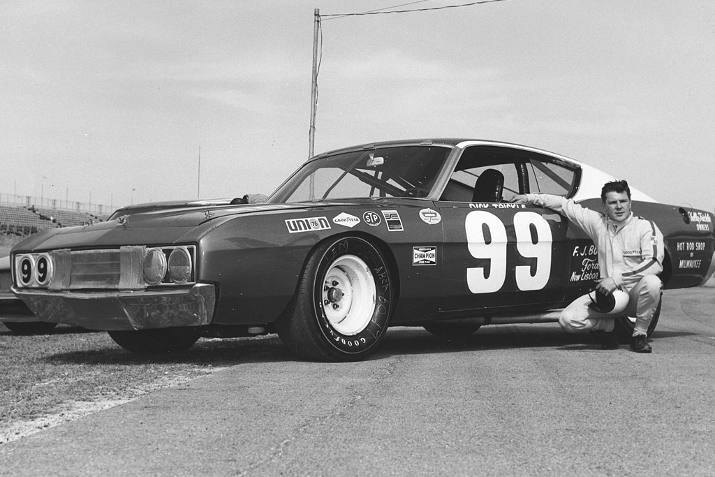 dick trickle and his short track car