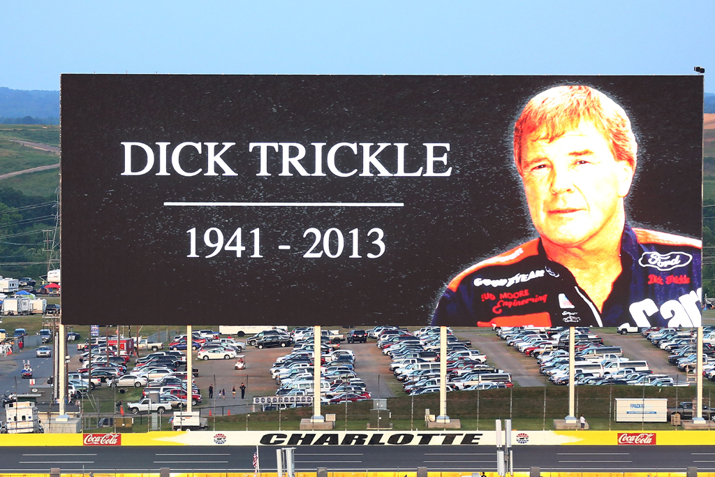 dick trickle goodbye sign