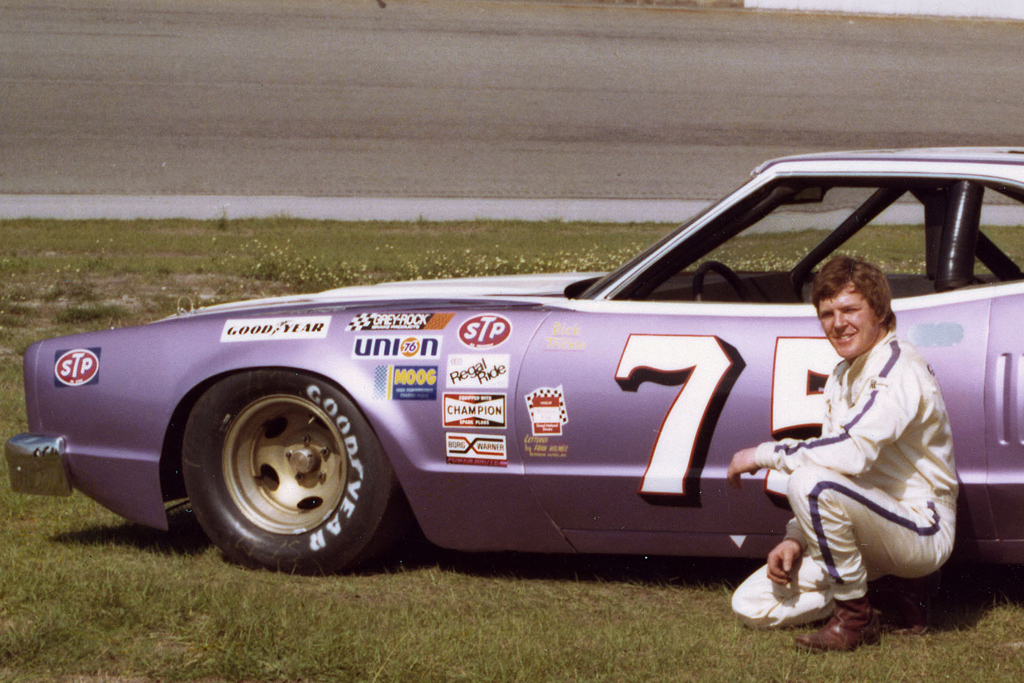 dick trickle purple knight