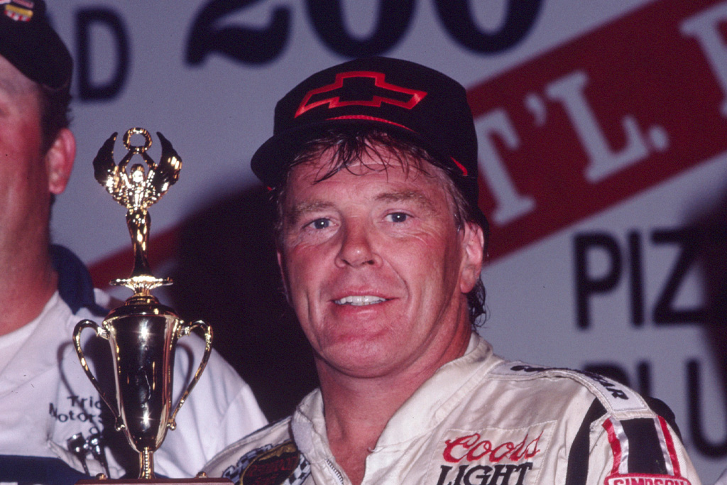 dick trickle with racing award