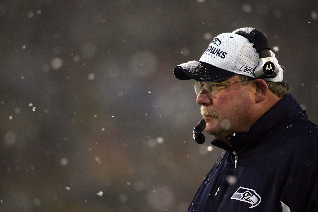 mike holmgren super bowl head coach packers seahawks