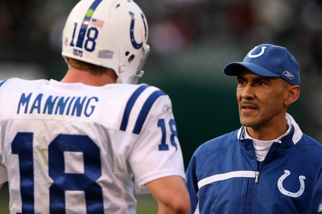 tony dungy super bowl head coach indianapolis colts