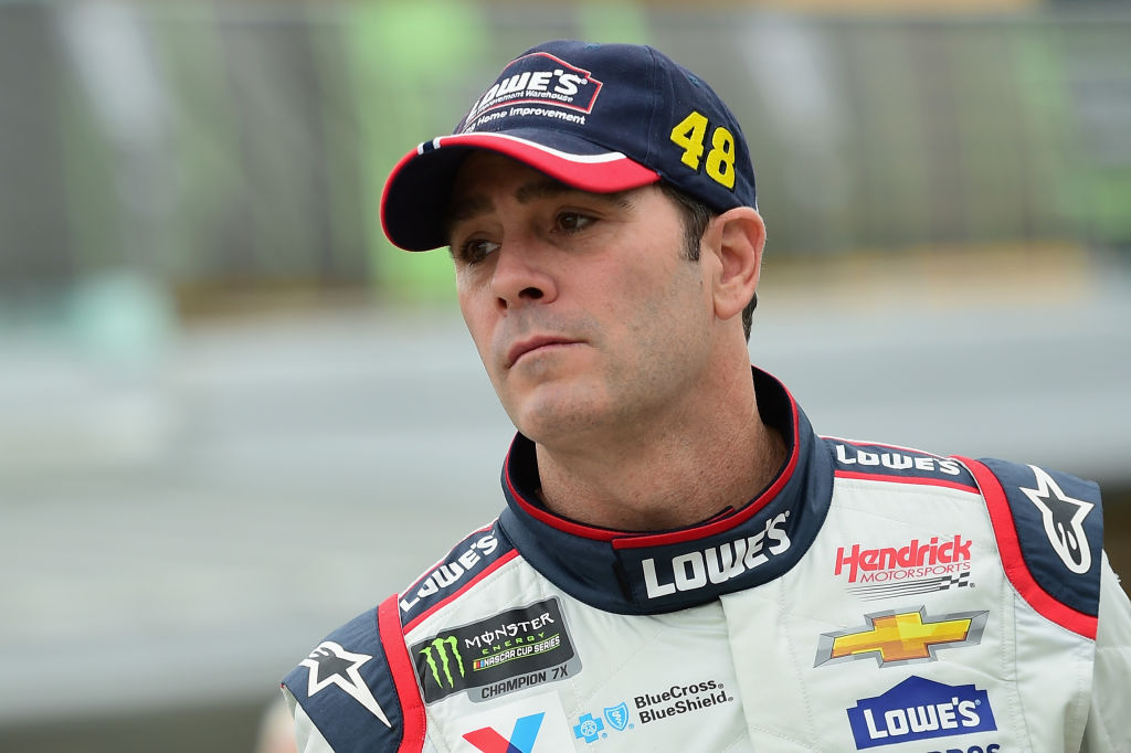 jimmie johnson nascar greatest driver all time