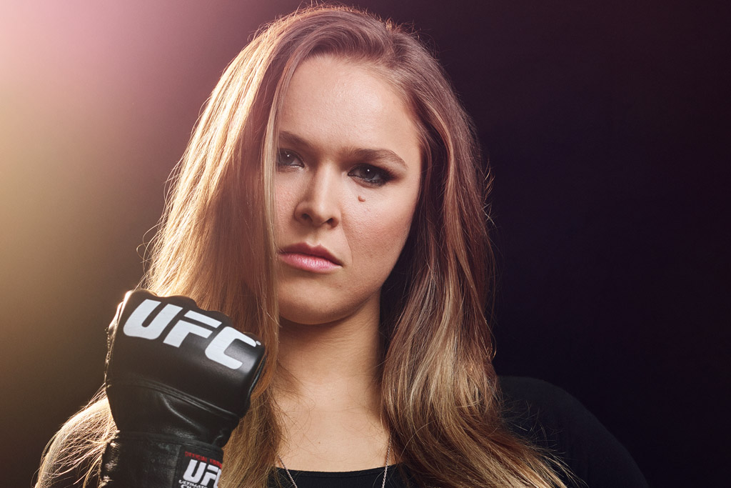 ronda rousey female sports pioneer ufc wwe