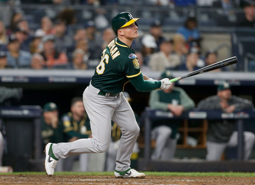 matt chapman oakland A's WAR best mlb players