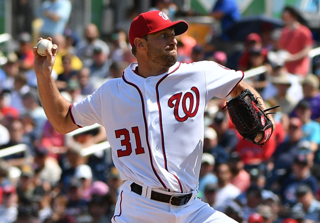 max scherzer washington nationals war best mlb players