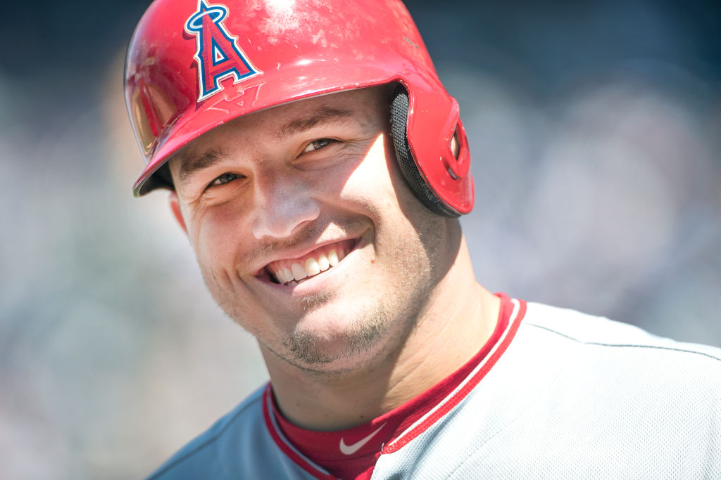 mike trout anaheim angels war best mlb players