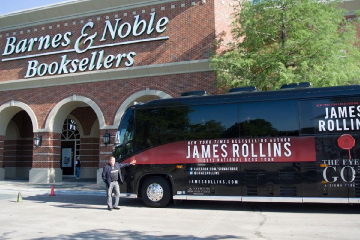 james rollins book tour