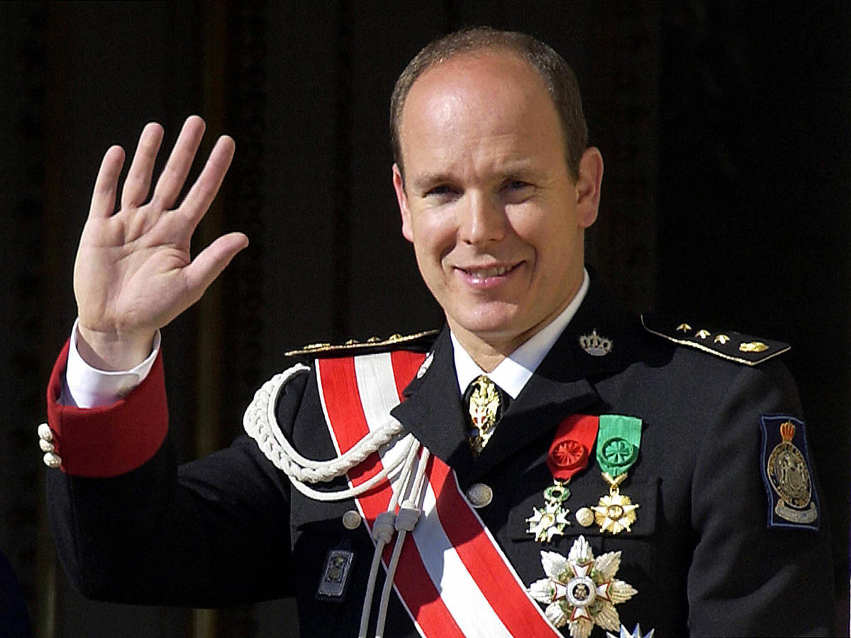 Prince Albert of Monaco says he has a speech impediment
