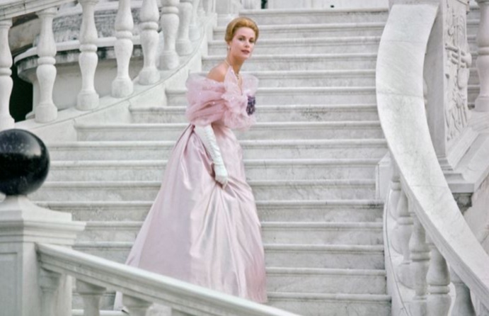 Princess Grace Kelly at Monaco Palace in 1966