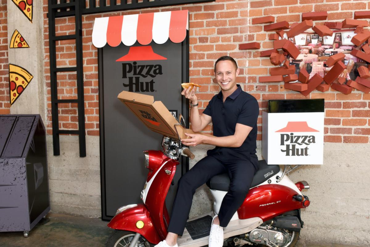 Guest attends the Pizza Hut Lounge at 2019 Comic-Con International: San Diego