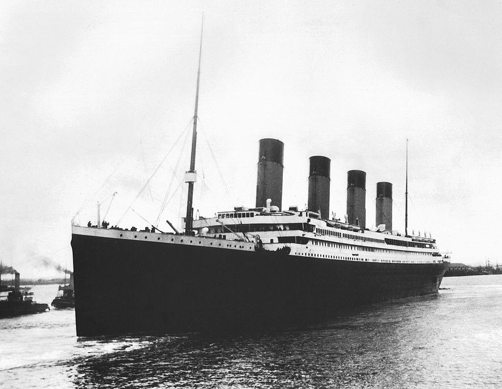 titanic in 1911 in belfast