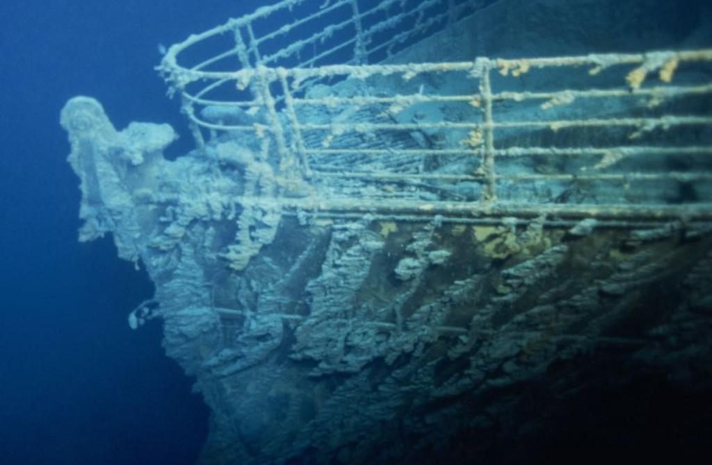 Wreck of Titanic, poured at night from April 14 till 15th 1912,