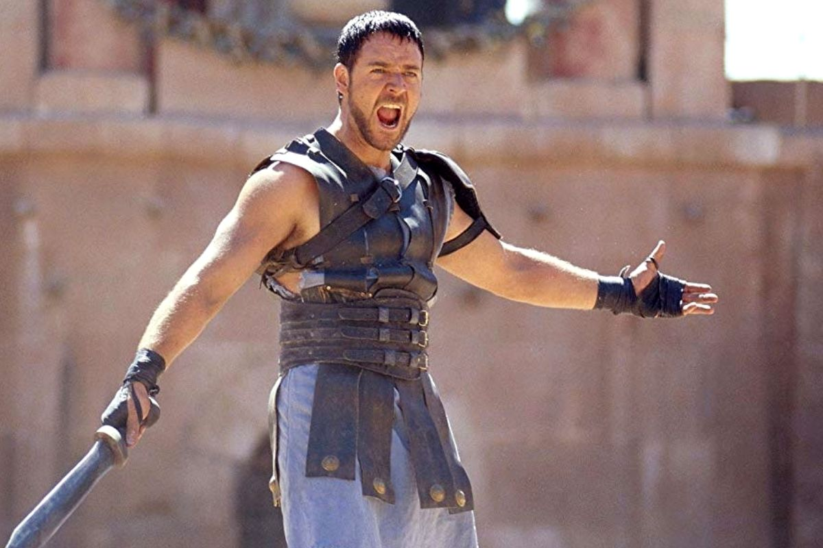 gladiator sweat russell crowe