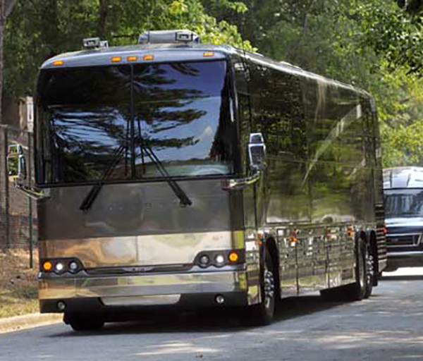 Rapper T.I.'s Tour Bus