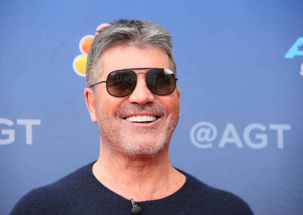 Simon Cowell attends NBC's