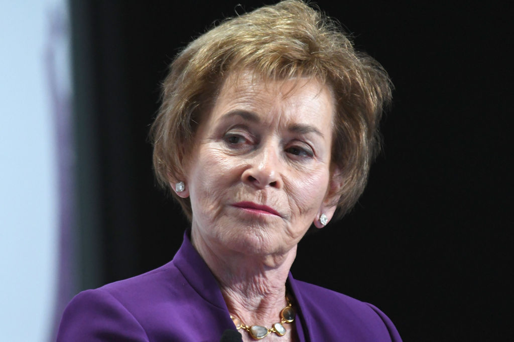 Judge Judy Sheindlin seen on stage