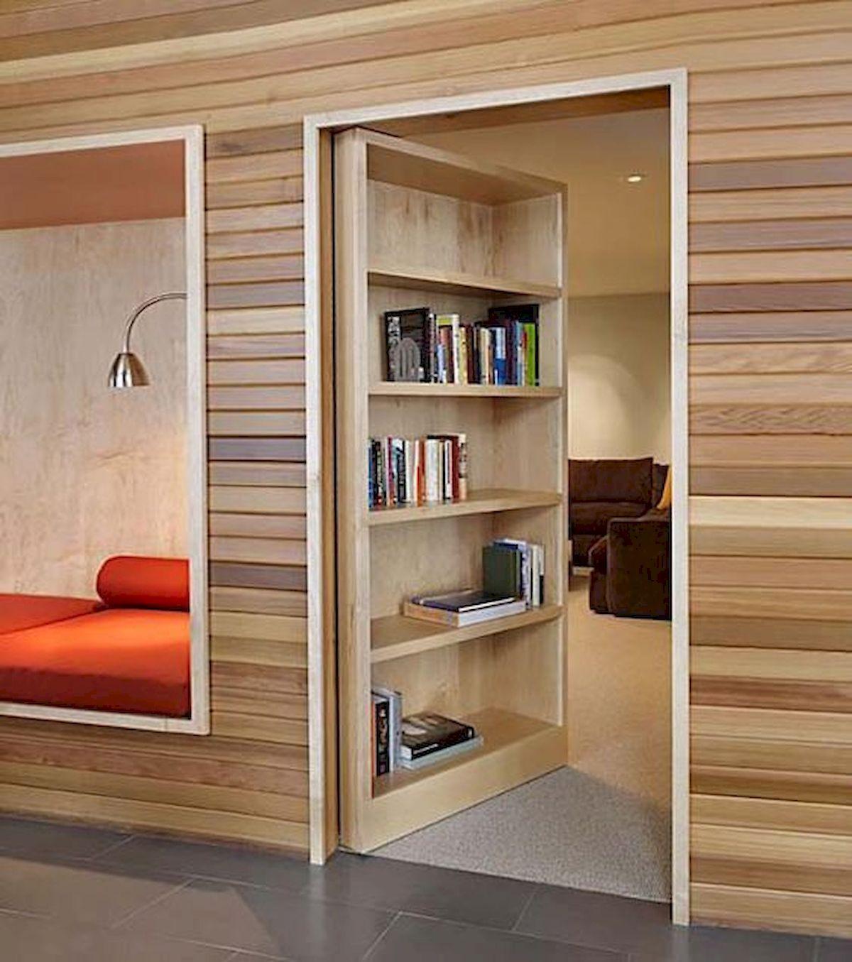 a hidden sitting room