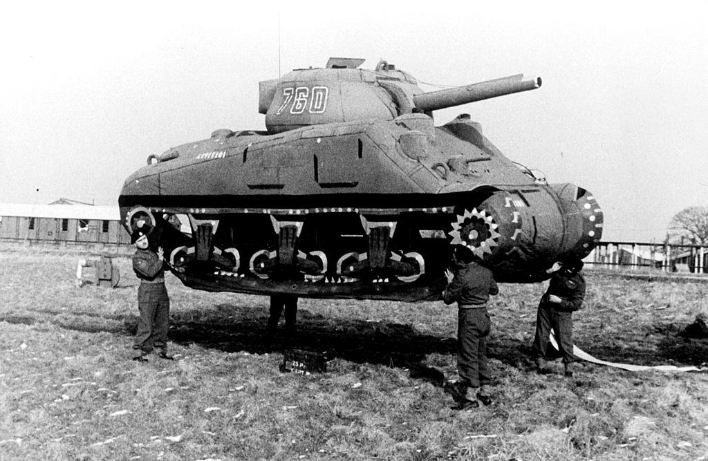 tank made of rubber