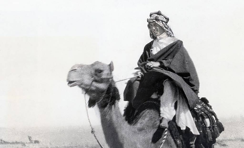 Larence on a camel -514877110