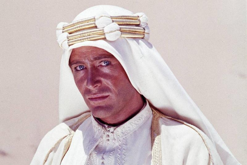 peter otoole as lawrence of arabia