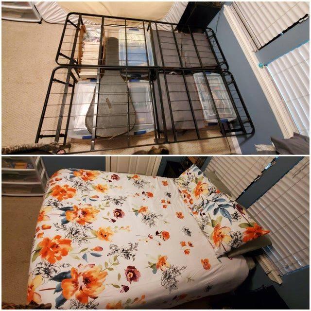 organization under bed