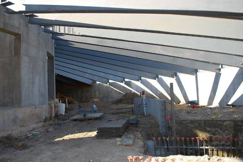 Massive Steel Beams For Maximum Protection