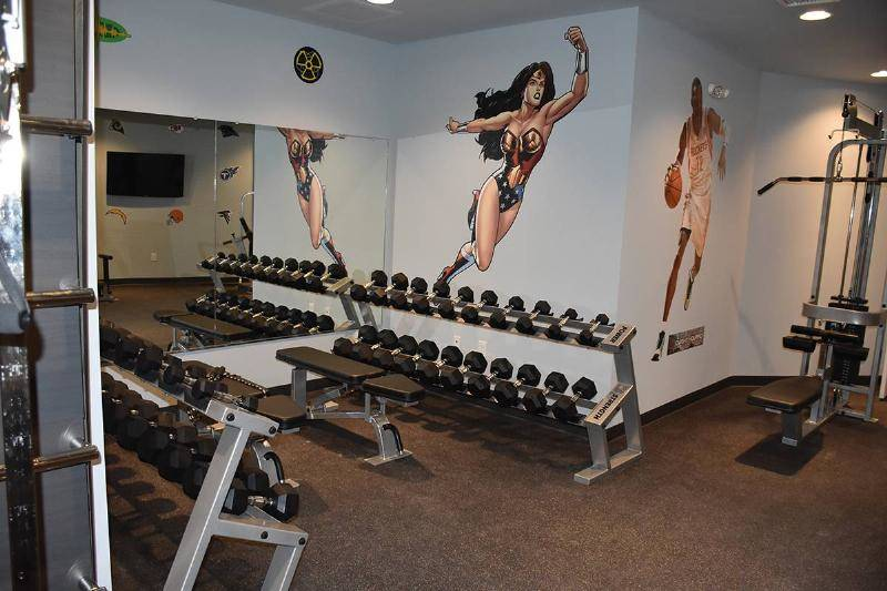 The Exercise Facility Is State-Of-The-Art