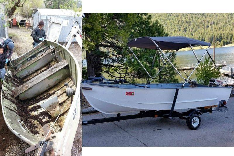 someone remade their uncles 30 year old boat