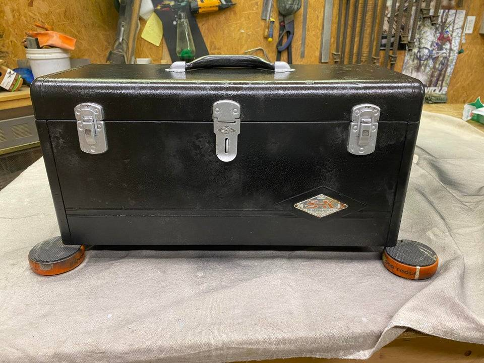 tool box that was restored
