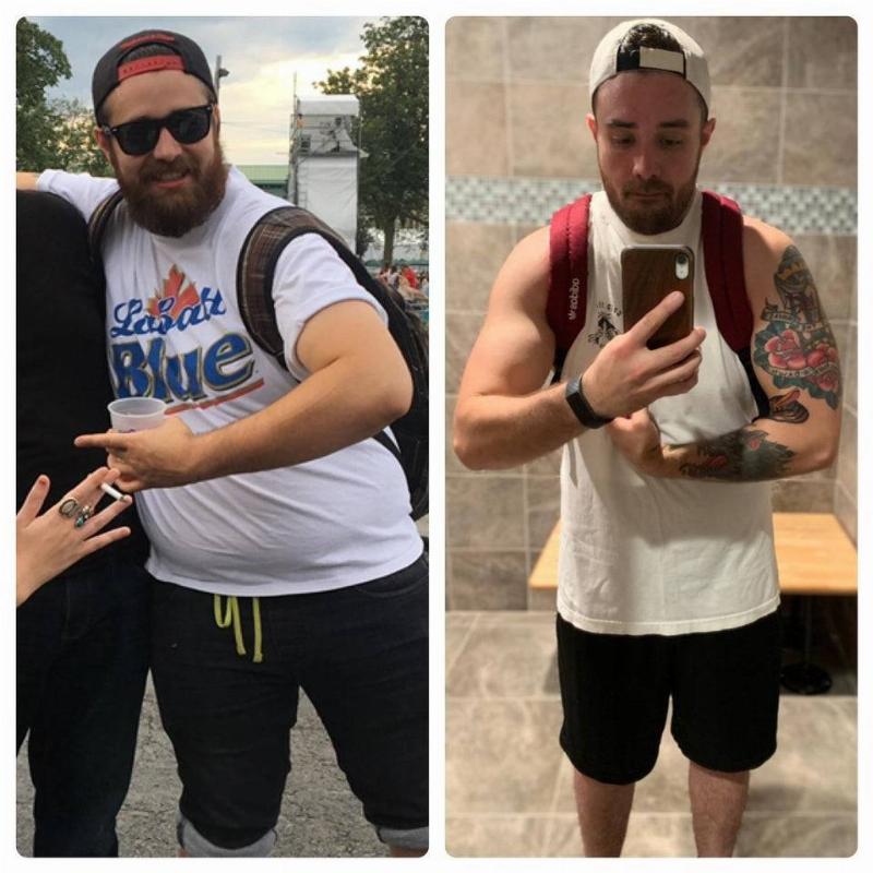 weight loss progress pic