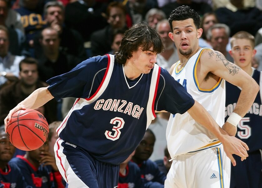 Adam Morrison was great at Gonzaga and even won a Championship in the NBA!