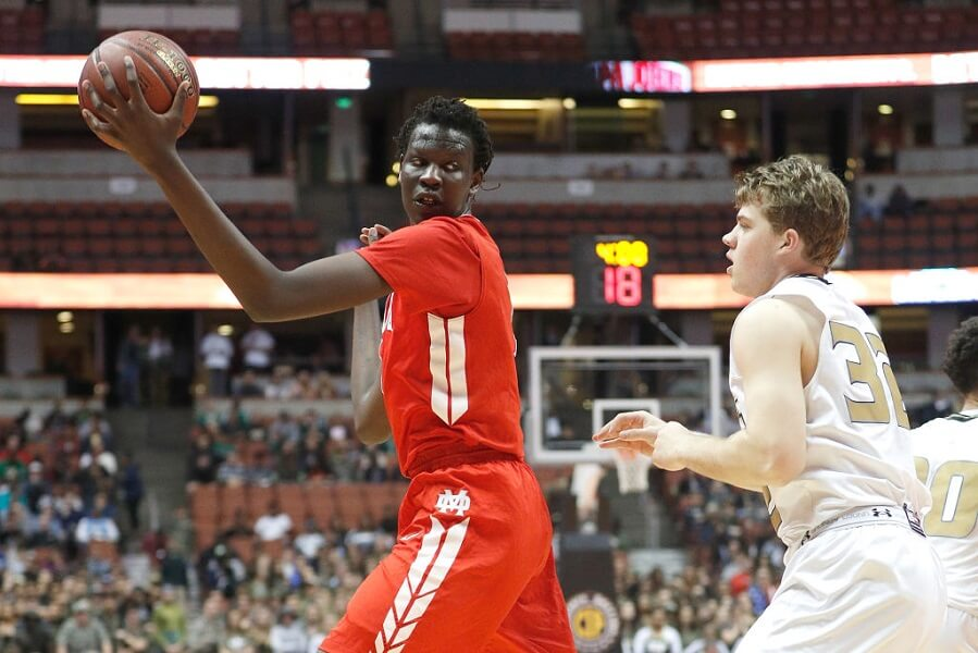 Bol Bol is making a name for himself in high school, following in Manute Bol's footsteps