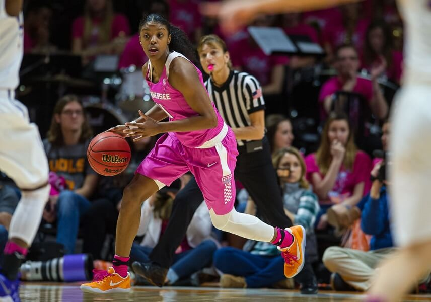 Diamond DeShields is a sports star just like her father