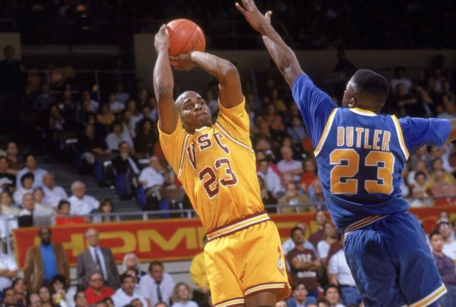 Harold Miner played great basketball at USC before being forgotten in the NBA
