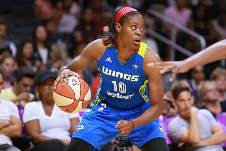 Kaela Davis is making a name for herself in the WNBA