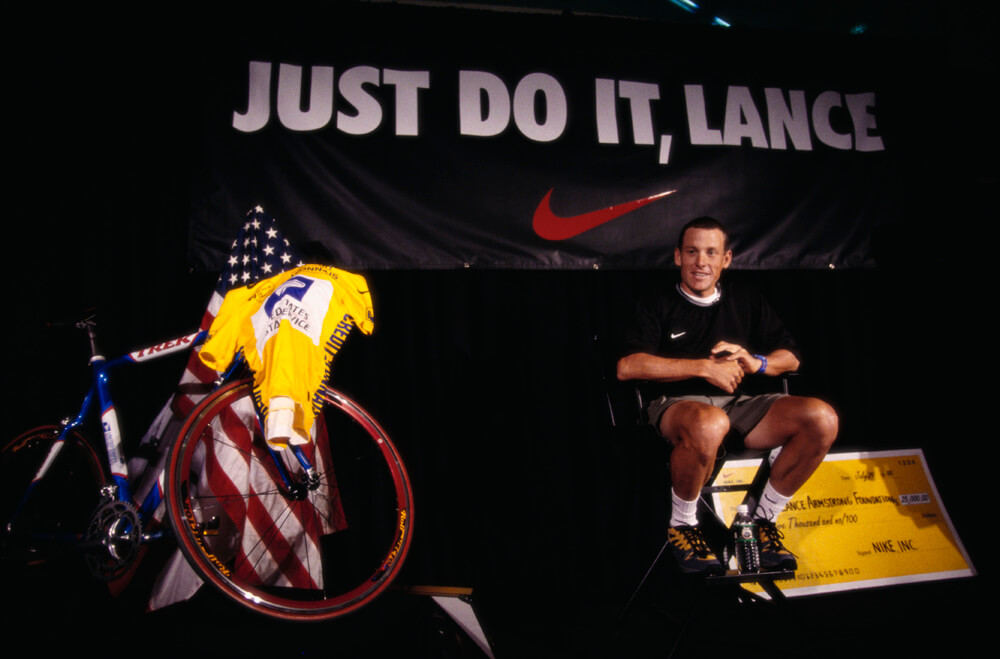 Armstrong Became The Spokesperson For Cancer Survival