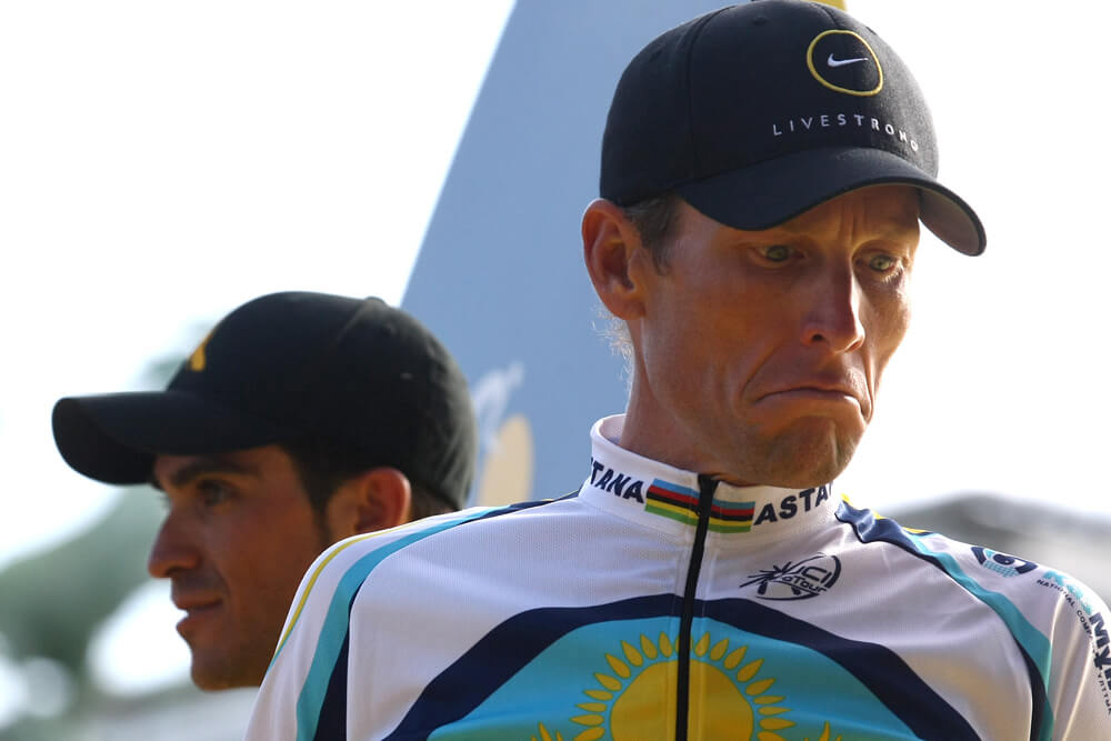 Armstrong Struggles To Get The Eighth Win Amid The Accusations