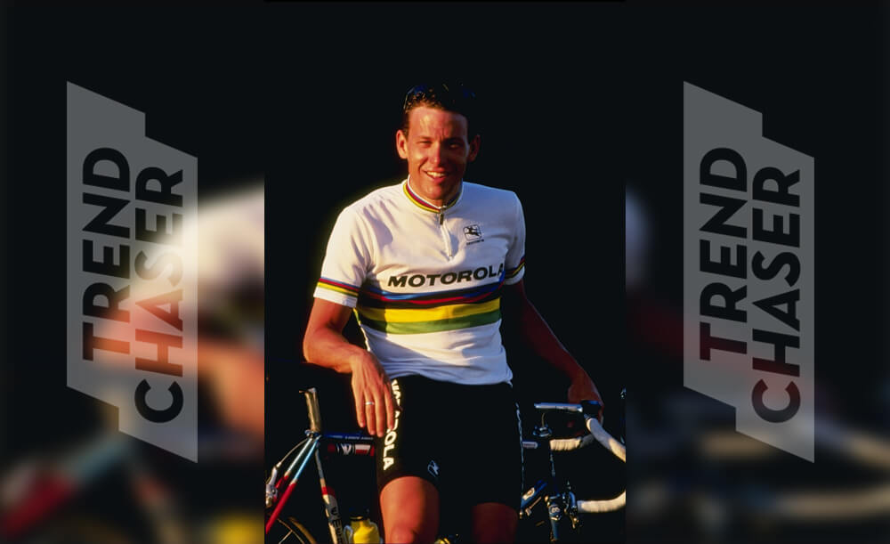 Lance Armstrong Signed With The Motorola Cycling Team