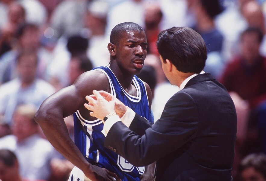 Tony Delk had a great college career at Kentucky but was overshadowed by bigger names in the NBA